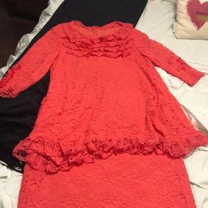 Custom made Coral 2 piece outfit
